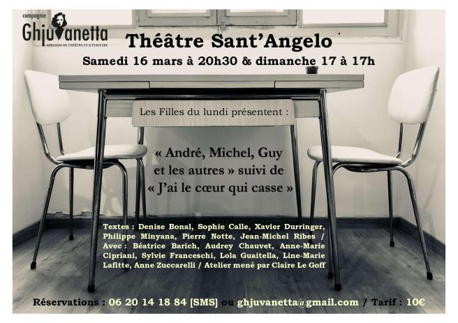 ANDRE MICHEL GUY ET LES AUTRES - THEATRE SANT'ANGELO